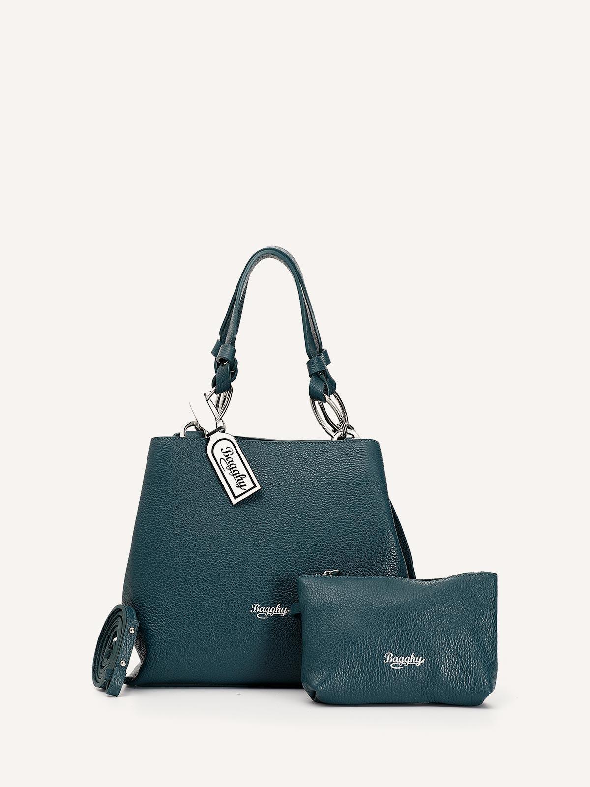 Gemma - Borsa blu petrolio firmata Bagghy Style