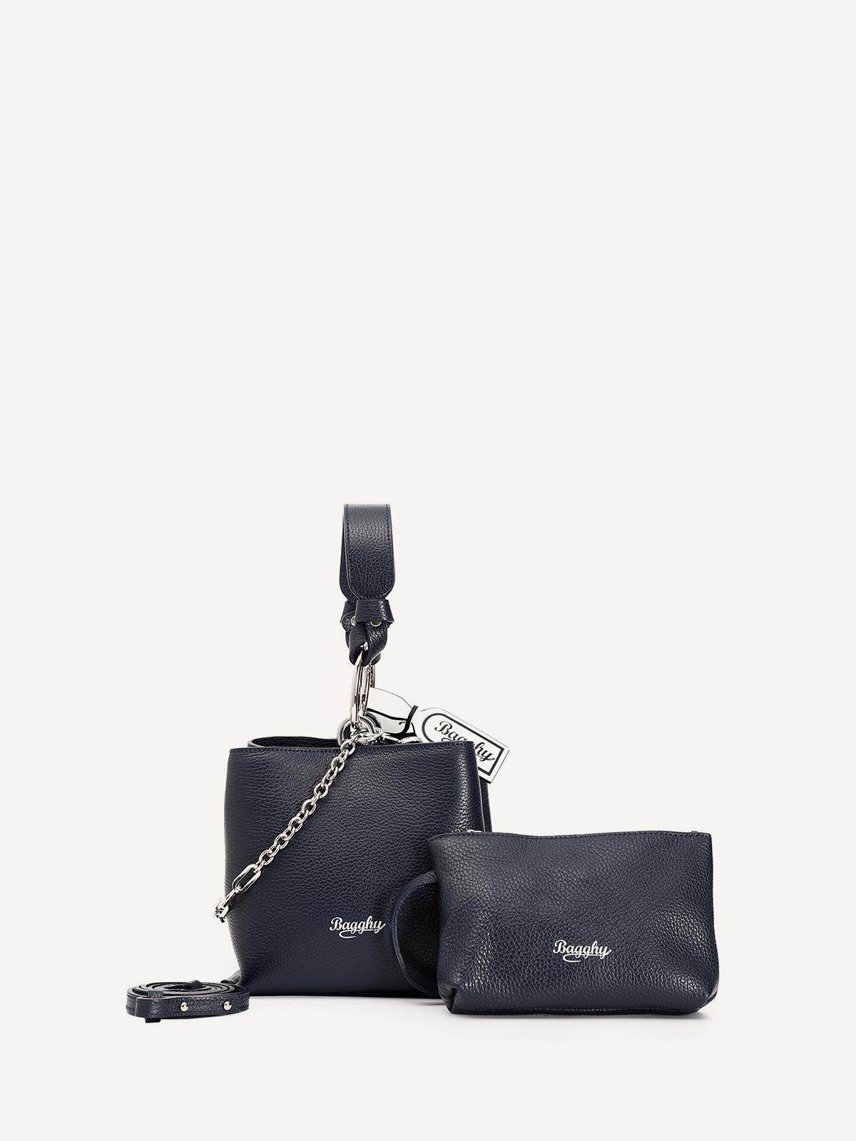 Bagghy Bag borsa nera donna